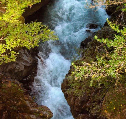 Caples River gorge