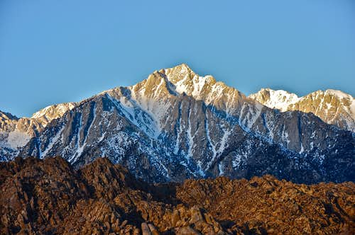 Lone Pine Peak seen from...