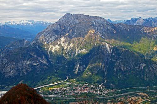Monte Amariana from Monte San Simeone