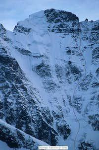 Fanchon-Shervais route North Face