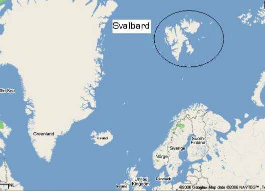 Svalbard Map Photos Diagrams Topos SummitPost