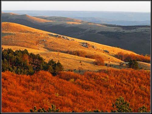 Slavnik slopes
