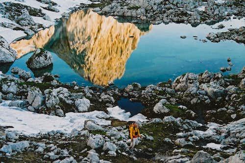 Velika Zelnarica in Zeleno jezero