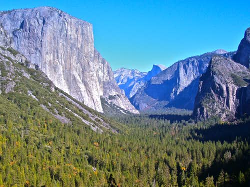 Distant View of El Capitan