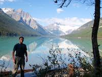 Mount Forbes, Glacier Lake