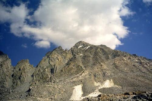 Mount Agassiz from Bishop Pass