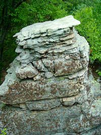 Rock Formation at South Summit