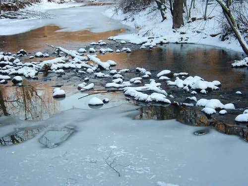 Passage Creek in Winter