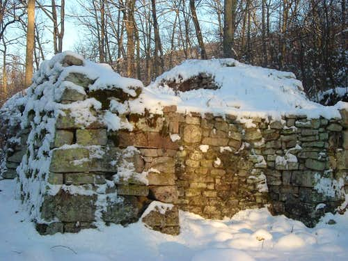 Elizabeth Furnace in Winter