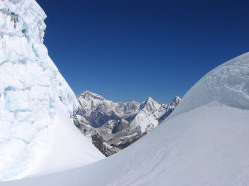Mera - Summit Crevasse