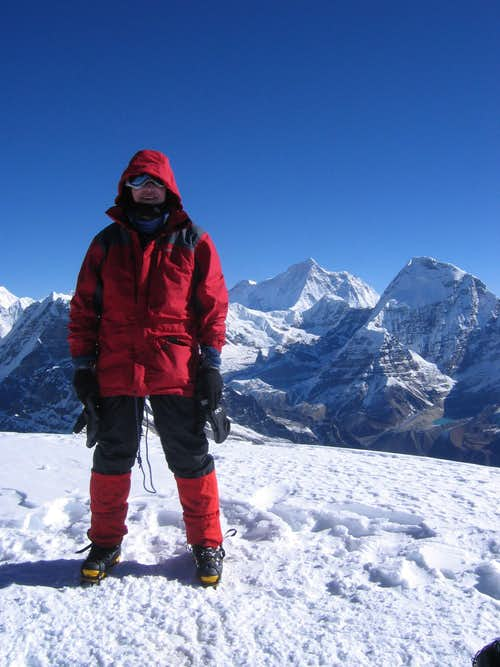 Mera - Summit View of Makalu