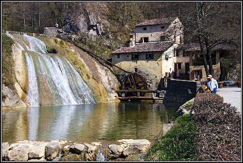 Moulin near Refrontolo