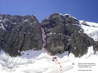 Congdon/McNab couloir - East Face of Mt. King George
