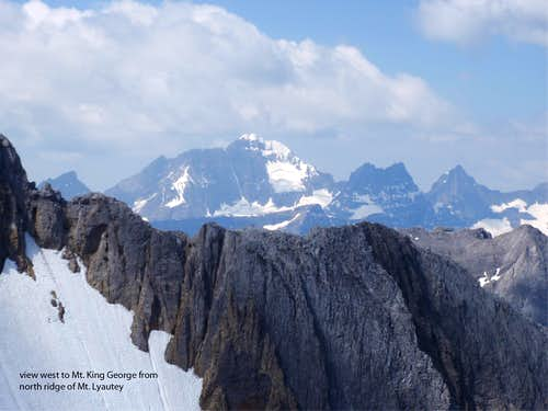 East Face of Mt. King George