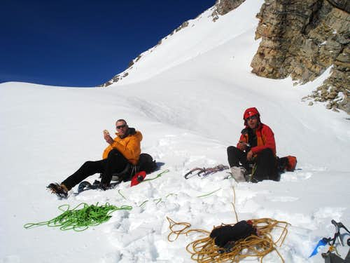 Lunch at 3250 metres