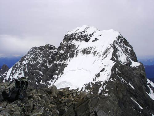 North Ridge of Mt. King George