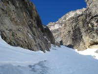 mid section of couloir
