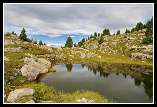 Negro Basin Tarns