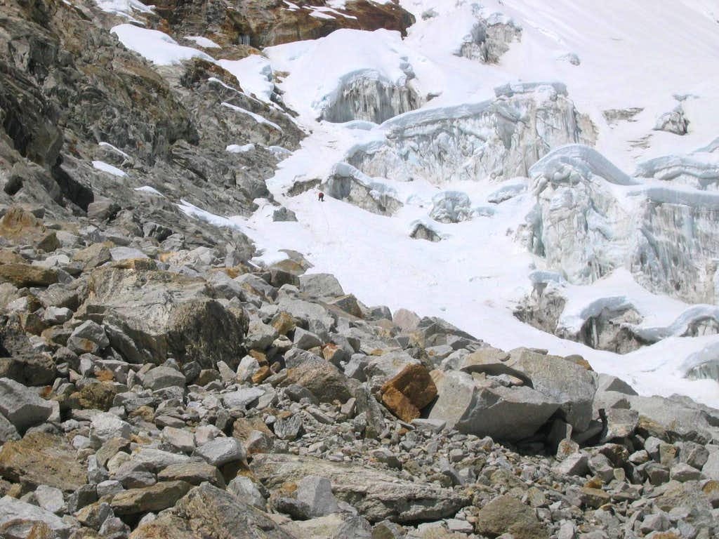 Pumori - South Ridge - To Camp 1