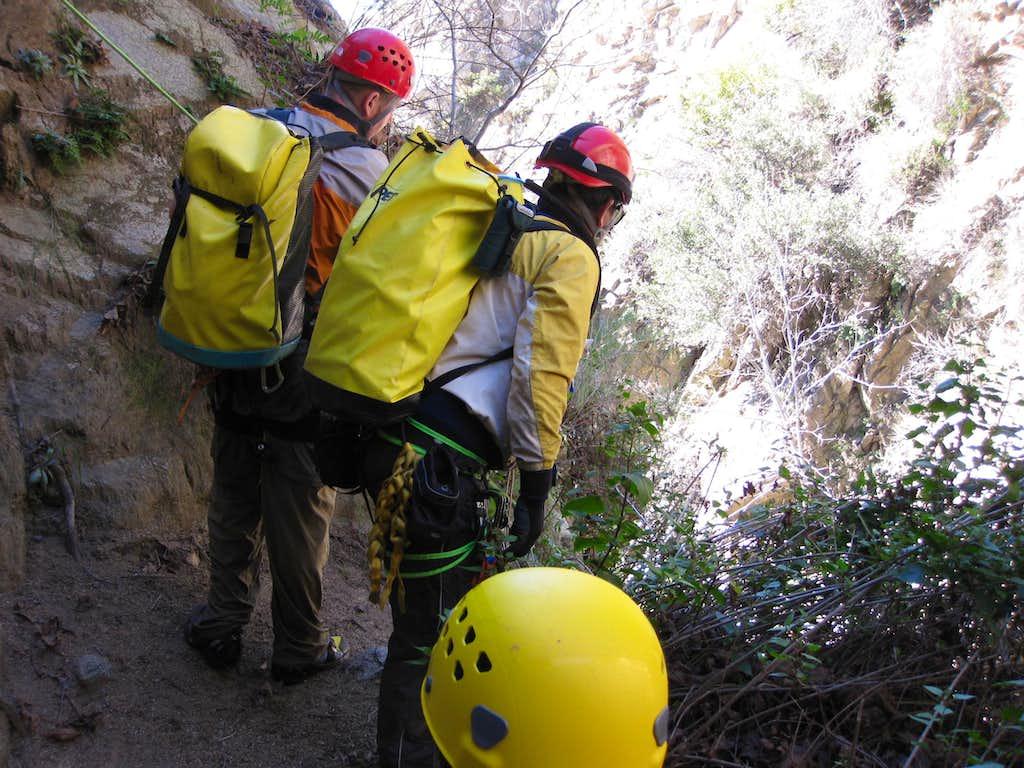 Canyoneering Bailey Canyon