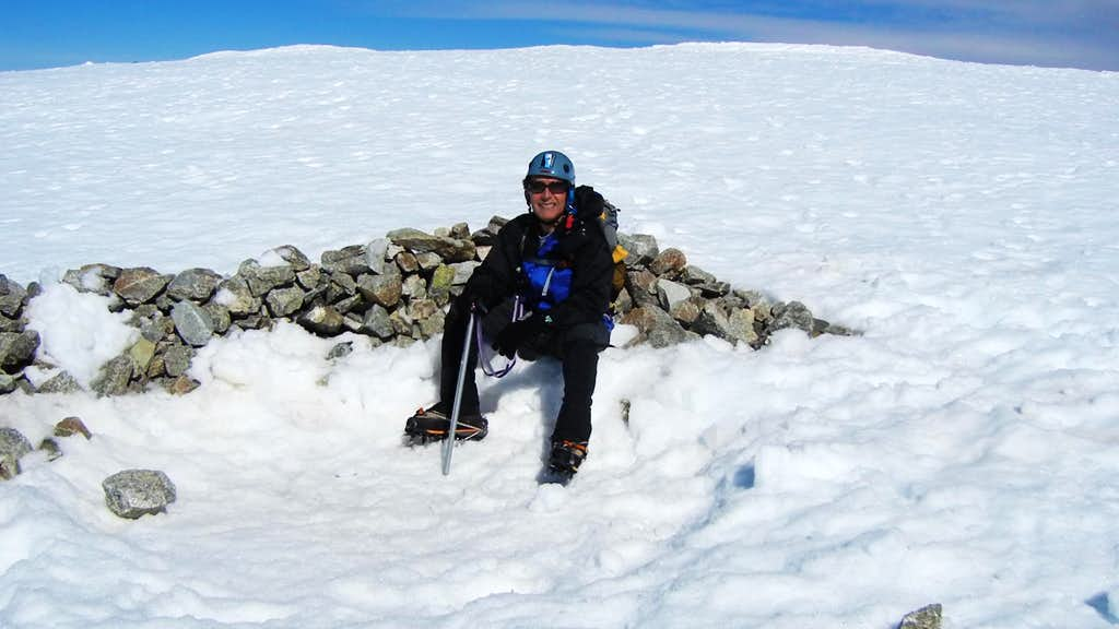 Content on the Summit of Mt. Baldy
