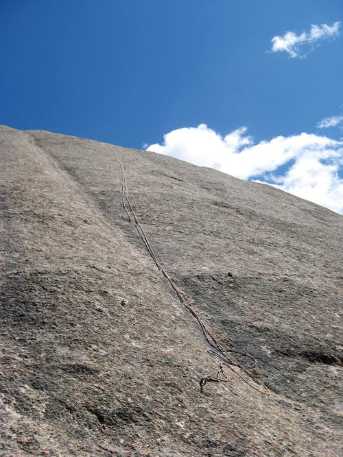 """Bolted Route"" - 5.7+"