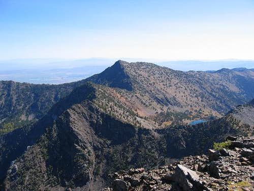 Elkhorn Peak as seen from the...