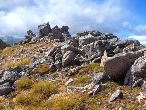 Along the ridge of the Kepler Track