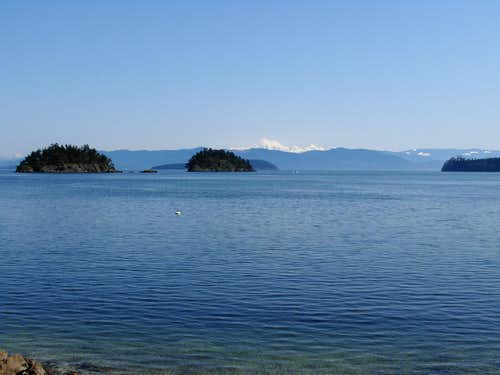 View From Cypress Island