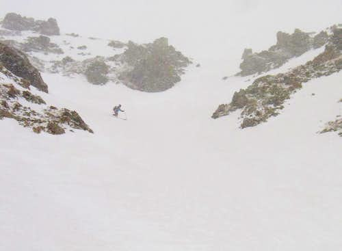 Lake Fork Peak East Chute Snowclimb & Ski Descent