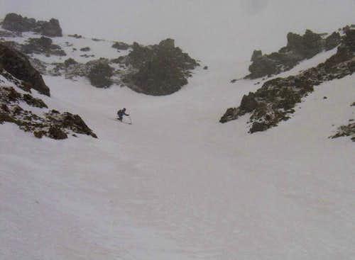 Lake Fork Peak East Chute Snowclimb & Ski Descent