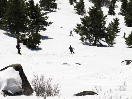 Spring Skiing on Shafer Butte