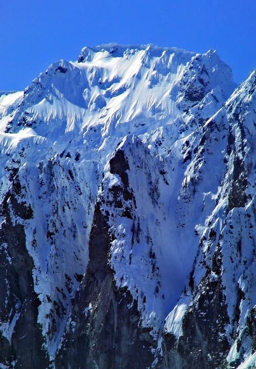 Mount Index\'s East Face