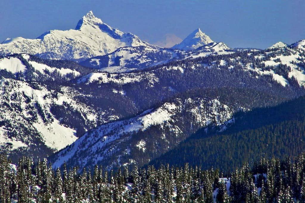 Sloan Peak and Mount Pugh