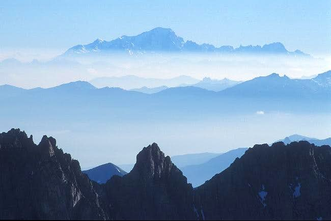 view to Mont Blanc Group...