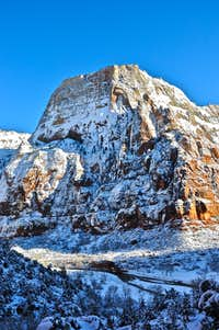 Zion In Snow