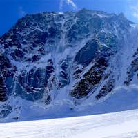 The North Face of Les Droites