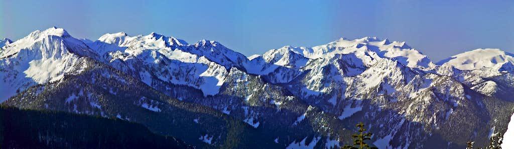 K9, Thor Peak, and Mount Daniel