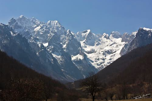 Entering Grbaja valley