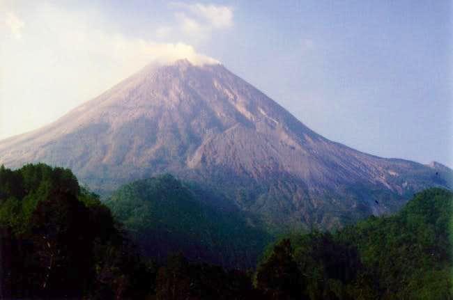 Merapi from Kaliurang - a...