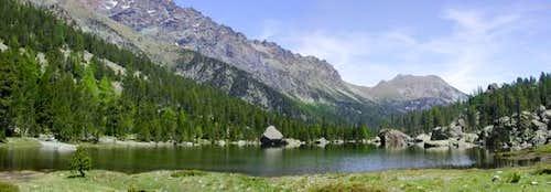 Il lago la Servaz (1801 m.)