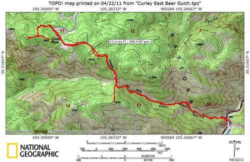 Bear Gulch Route
