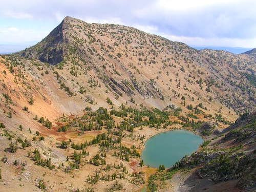 Elkhorn Peak and Twin Lakes...