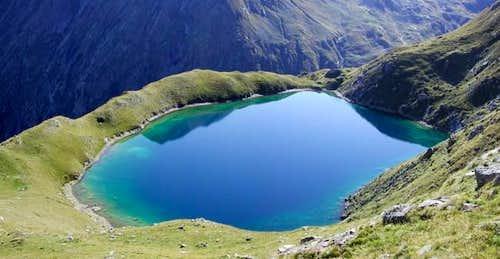 Il lago Lavodilec (2359 m.)