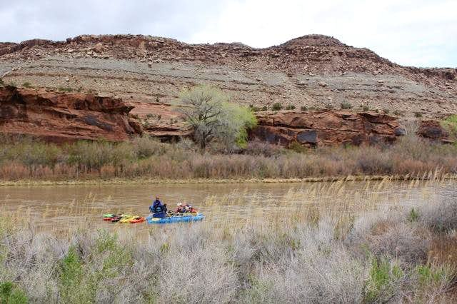 Rafters on Gunnison River