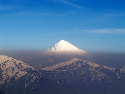 Damavand Seen from Tochal Peak
