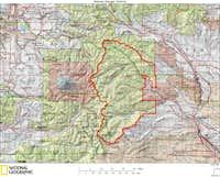 Naches Ranger District Map