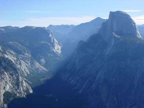 Half Dome from Glacier Pt