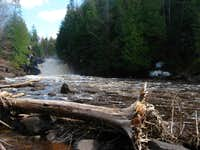 Sturgeon River Gorge and Silver Mountain April \'11