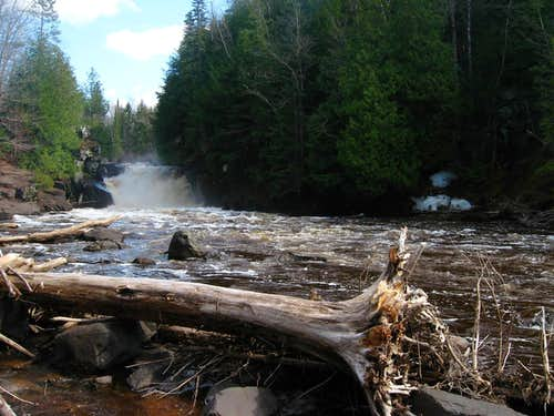 Sturgeon River Gorge and Silver Mountain April '11